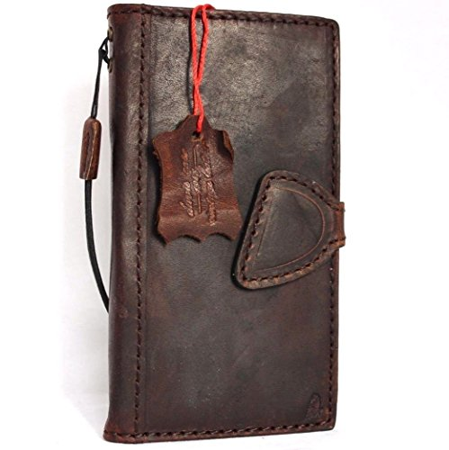 Genuine Vintage Italian Leather Case for Iphone 6s Plus Book Wallet Handmade Retro with Strap Luxury 6 S Jp (Italian Leather Cell Phone Case compare prices)