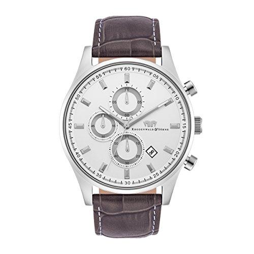 rhodenwald-sohne-galando-sports-chronographe-bracelet-cuir-5atm-s-gre-10010173
