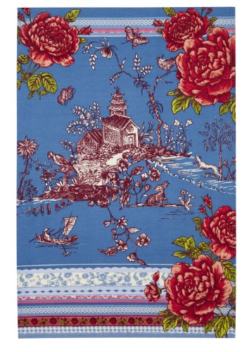 Ulster Weavers Willow Oriental Styled Cotton Tea Towel