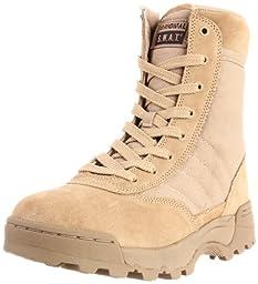 Original S.W.A.T. Men\'s Classic 9 Inch Side-zip Tactical Boot, Tan, 11 D US