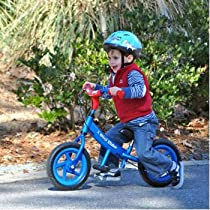 "Glide Bikes 12"" Mini Glider for Ages 2 to 5 High Quality, Light Weight Aluminum, Alloy Frame, EVA Foam Tires Dimensions: 36"" X 25"" X 1"" (Blue Glider)"