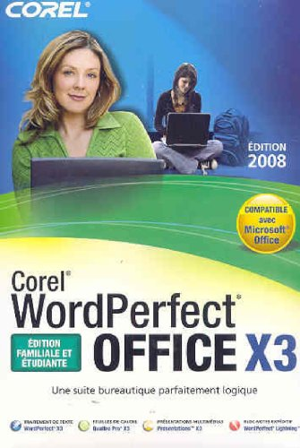 Fr Wordperfect Office X3 Home   and Student Edit Mini Box
