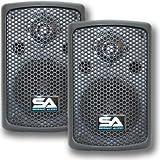 "Seismic Audio - NPS-6 - 6"" Molded PA/DJ SPEAKERS Speaker System"