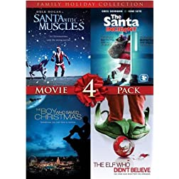 4 Film Family Holiday Movie Collection