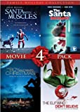 4 Film Family Holiday Movie Collection (Santa With Muscles / The Santa Incident / The Boy Who Saved Christmas / The Elf Who Didn't Believe)