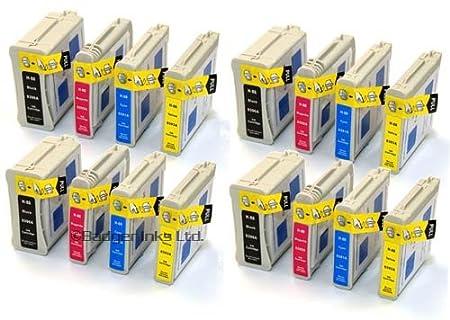16 Cartouche d'encre pour Imprimante HP Officejet Pro K5400dtn - Multi-Color