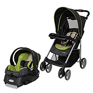 Evenflo Journey Lite Travel System, Woodland Buddies