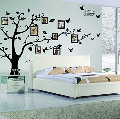 Family Tree Picture Frame Wall Decals
