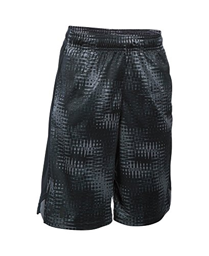 Under Armour Boys' Eliminator Printed Shorts, Graphite (044), Youth Large