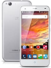 Nuovo 5'' ZTE Blade S6 IPS HD Screen 4G Smartphone Android 5.0 Android L Qualcomm MSM8939 Octa Core Mobile Phone Dual SIM 2G RAM 16G ROM 13.0MP Back Camera GPS Air Gesture Cellulare WIFI ,Argento