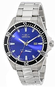 Invicta Men's 15184SYB Pro Diver Blue Dial Stainless Steel Watch
