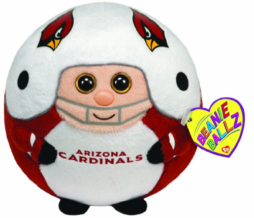 Ty Beanie Ballz Arizona Cardinals - NFL Ballz - 1