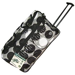 """27"""" (70 L) Trolley Bag Wheeley Bag Rolling Luggage Black by Aerolite"""