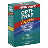 Opti-Free Disinfecting Solution, Multi-Purpose, No Rub, Twin Pack 2 - 10 fl oz (300 ml) bottles