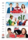 Mr Woodcock/Elf/Dumb And Dumber [DVD]