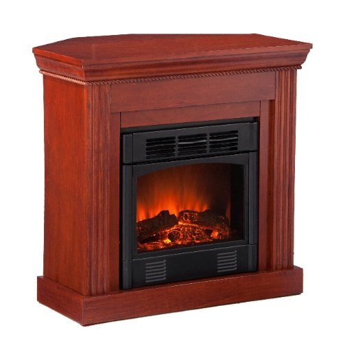 Southern Enterprises Wexford Petite Convertible Mahogany Electric Fireplace image B005HZPI6O.jpg