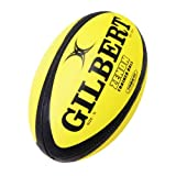 Gilbert Men's Zenon Rugby Training Ball - Fluoro, Size 5