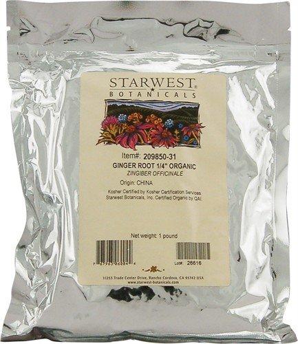 Отзывы Starwest Botanicals Organic Ginger Root