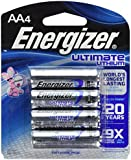 Energizer BF-W3DL-O4K4 Ultimate L91BP-4 Lithium AA Battery, 24 Batteries in Original Retail Packs Not Bulk