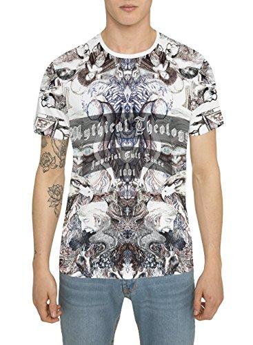 Camisetas-de-Moda-Designer-Retro-Fashion-Rock-para-Hombre-Camiseta-Blanca-con-Estampada-KING-EAGLE-Cuello-redondo-Manga-corta-Algodn-Alta-calidad-Ropa-Urbana-Cool-para-Hombres-S-M-L-XL-XXL