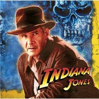 Indiana Jones Beverage Napkins 16ct