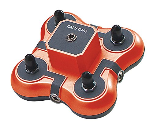 Califone 1114AVPS 4-Position Mini Stereo Jackbox with individual volume control to connect 4 Headphones with media players (Listening Center Califone compare prices)
