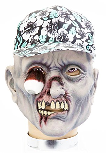 Forum Novelties Zombie Mask with Hat, Percy
