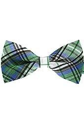 Tok Tok Designs® Handmade Men Bow Ties - B54 (TC Cotton Fabric)