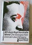 img - for Mit dem Kopf durch die Wand: Die biologischen Grenzen des Denkens book / textbook / text book