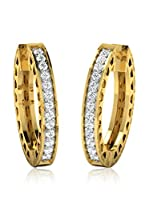 Friendly Diamonds Pendientes Oro