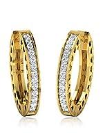 Friendly Diamonds Pendientes Oro