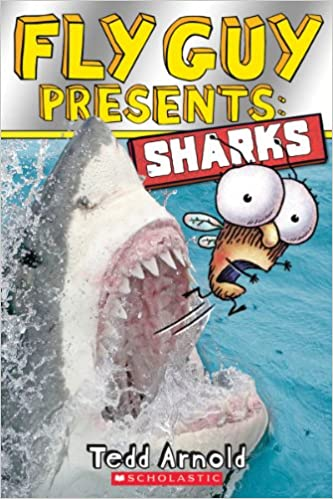 This is on my Wish List: Fly Guy Presents: Sharks (Scholastic Reader, Level 2) (9780545507714): Tedd Arnold: Books