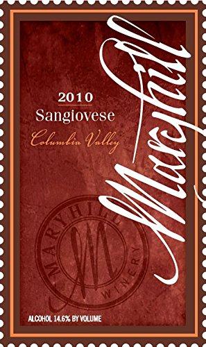 2011 Maryhill Winery Sangiovese 750 Ml