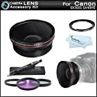 67mm HD Wide Angle Lens Kit For Canon SX50 HS
