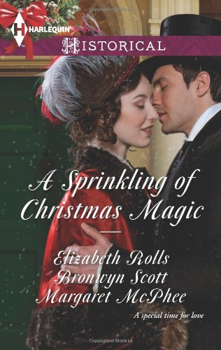 Image of A Sprinkling of Christmas Magic: Christmas Cinderella\Finding Forever at Christmas\The Captain's Christmas Angel (Harlequin Historical)