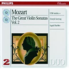 "Mozart: Six Variations for Piano and Violin in G minor K.360 on -""H�las, j'ai perdu mon amant"" - Tema (Andantino) - Var. I/VI"