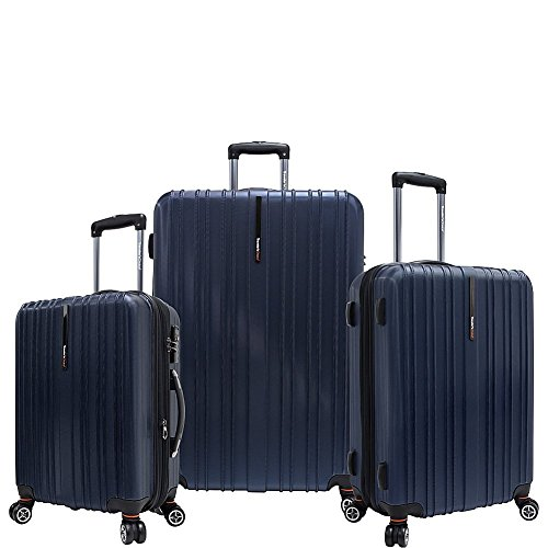travelers-choice-tasmania-polycarbonate-three-piece-luggage-set-navy