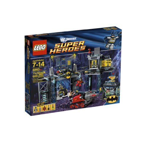 LEGO Super Heroes The Batcave 6860 Amazon.com