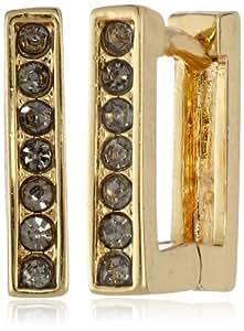 Vince Camuto Square Hinge Gold Hoop Earrings