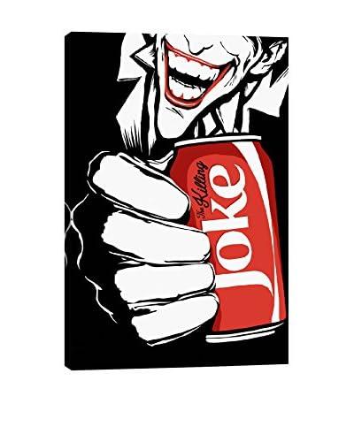 iCanvas Art The Killing Joke The B&W Edit By Butcher Billy Canvas Print