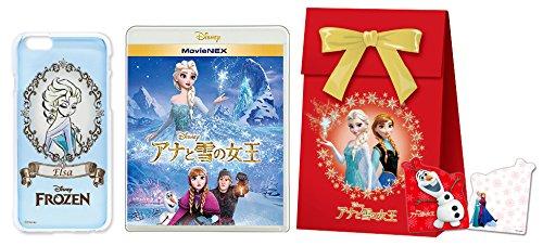 【Amazon.co.jp限定】アナと雪の女王 MovieNEX [ブルーレイ+DVD+デジタルコピー(クラウド対応)+MovieNEXワールド] (iPhone 6 ケース クリアジャケット・「アナと雪の女王」オリジナル ギフトバッグ付)  [Blu-ray + DVD]