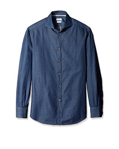 Brunello Cucinelli Men's Slim Fit Denim Sport Shirt