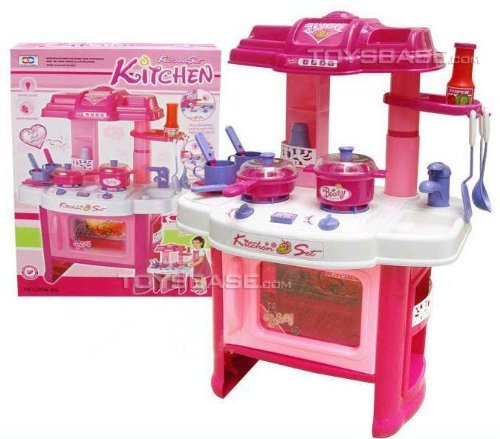 Liberty-Imports-Deluxe-Beauty-Kitchen-Appliance-Cooking-Play-Set-24-w-Lights-Sound