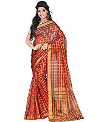 New Look Cotton art silk saree with blouse