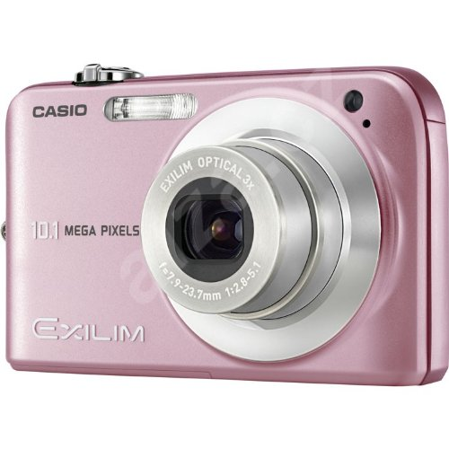 Casio EX-Z1050PKDDD Digital Camera - Pink (10.0MP,  3x Optical Zoom)