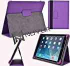 Cover W/Stand : (Purple) Flytouch 9 10.1 Dual Core NuVur ™ |MU10EXU1|