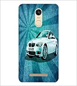 PrintDhaba Car D-4401 Back Case Cover for XIAOMI REDMI NOTE 3 PRO (Multi-Coloured)