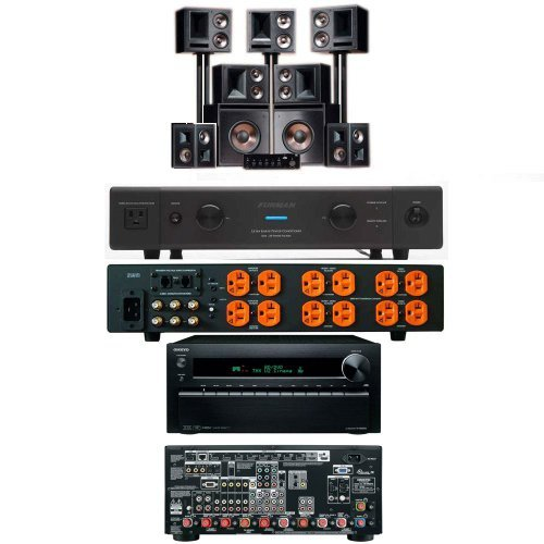 Klipsch Thx Ultra2 7.2 System With Onkyo Tx-Nr3010 9.2-Ch-And Furman Elite-20