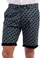 BLUE COAST YACHTING Geometrical Shorts Geometrical Shorts (AZUL OSCURO)