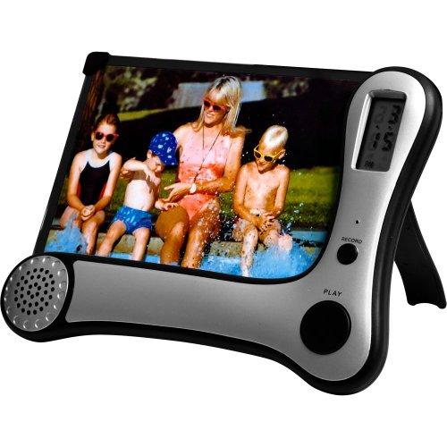 Journey's Edge 82-4557 7-Inch Digital Picture Frame (Black)